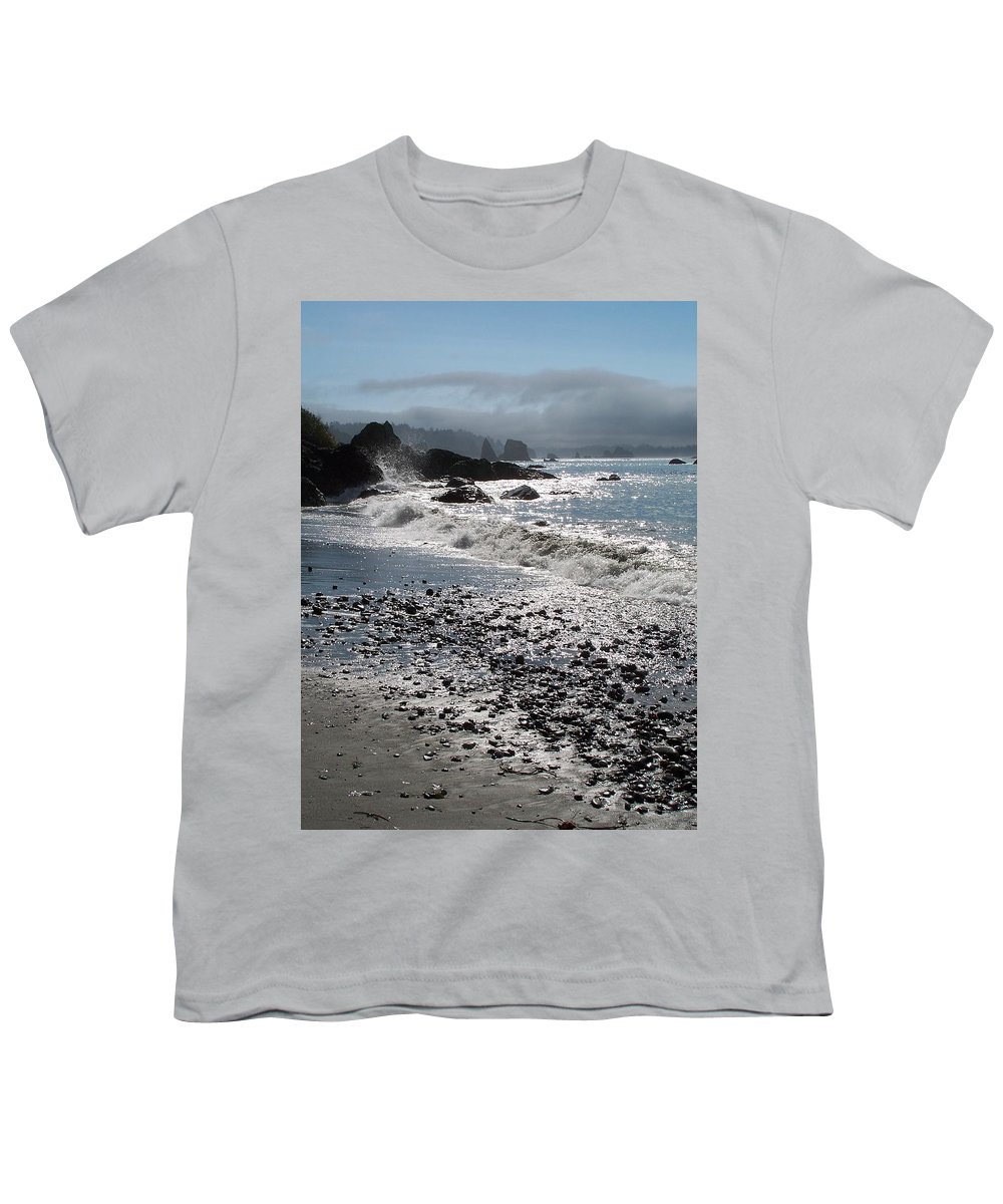 Ocean Youth T-Shirt featuring the photograph Rocky Shores by Gale Cochran-Smith
