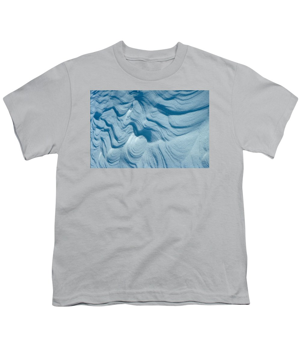 Snow Youth T-Shirt featuring the photograph Snow by Flavia Westerwelle