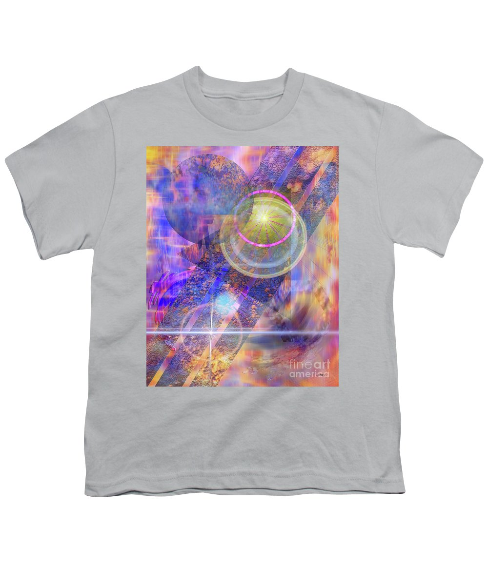 Solar Progression Youth T-Shirt featuring the digital art Solar Progression by John Beck