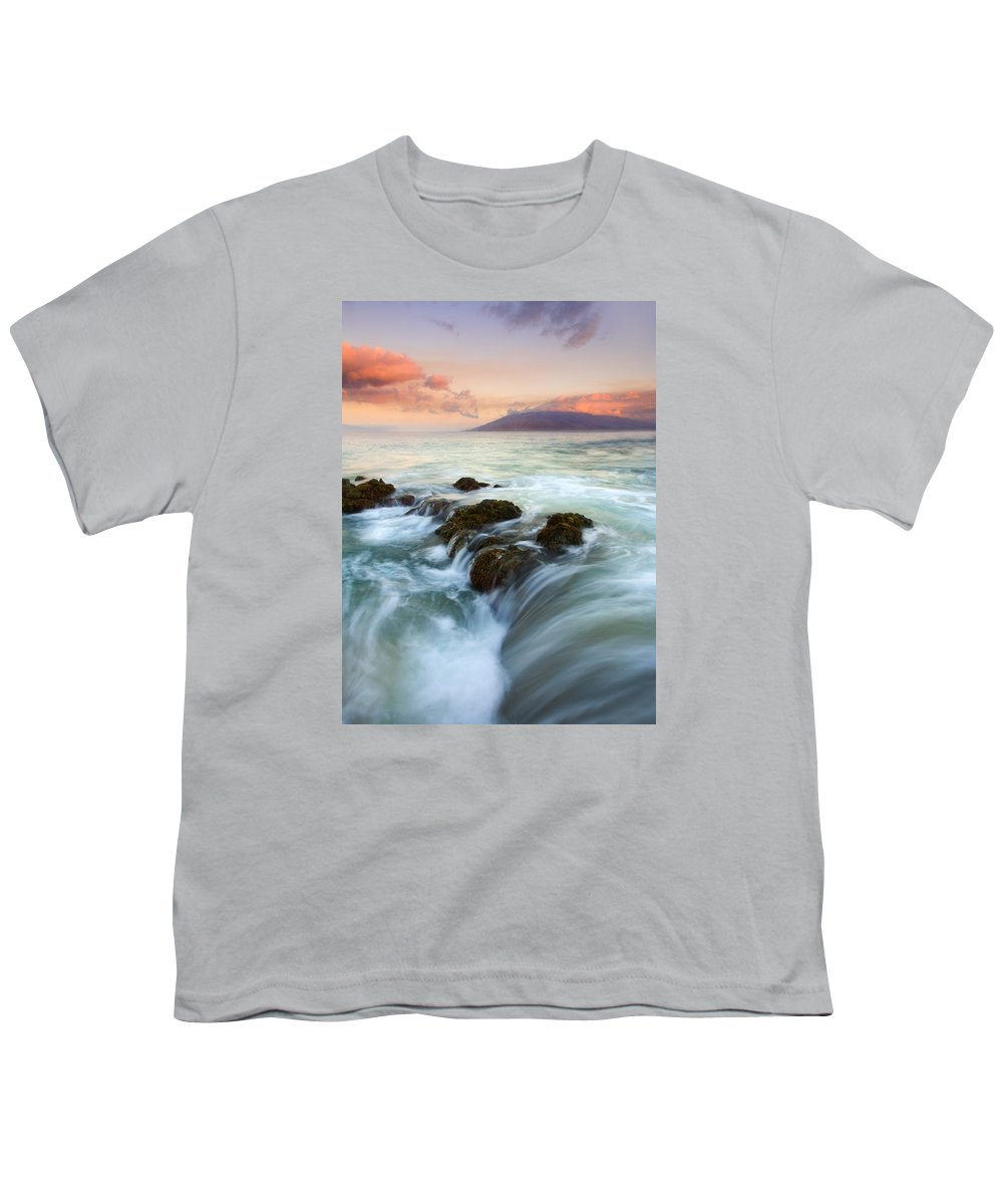 Sunrise Youth T-Shirt featuring the photograph Sunrise Drain by Mike Dawson