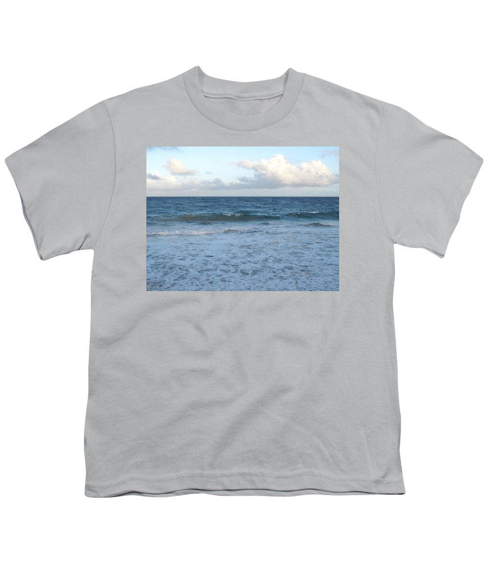 Surf Youth T-Shirt featuring the photograph The Next Wave by Ian MacDonald