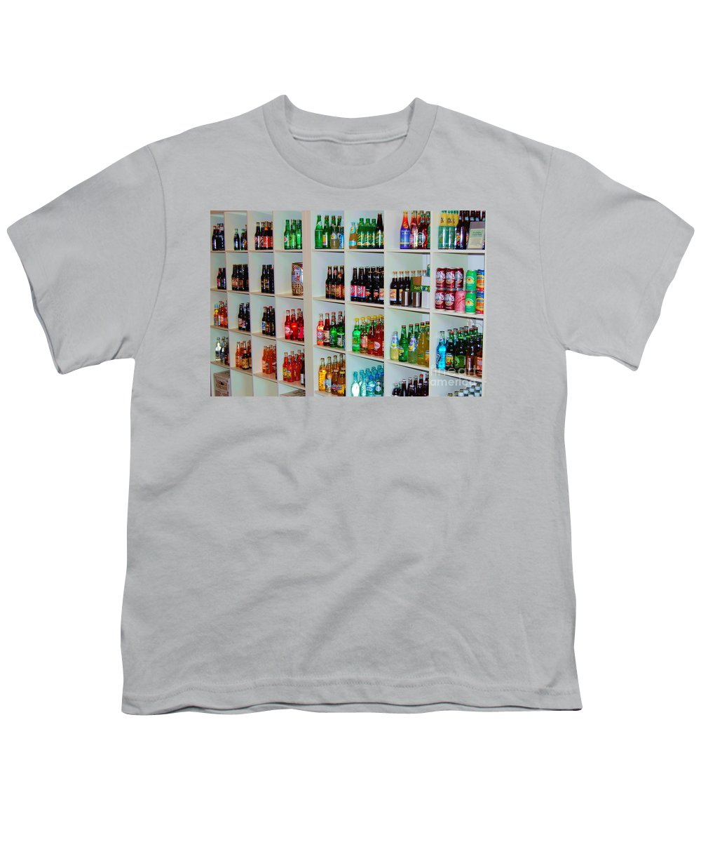 Soda Youth T-Shirt featuring the photograph The Soda Gallery by Debbi Granruth
