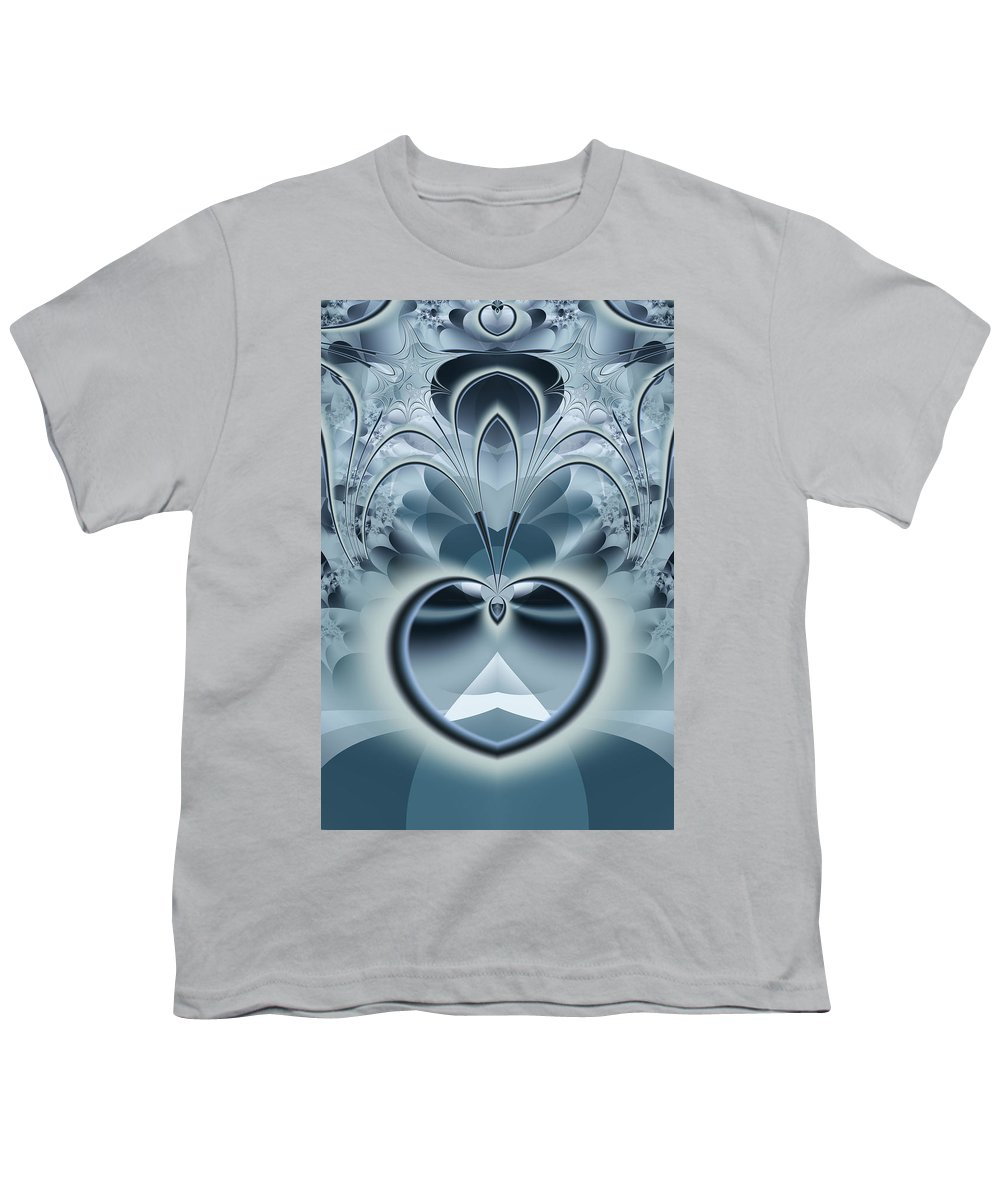Fractal Youth T-Shirt featuring the digital art Vision by Frederic Durville