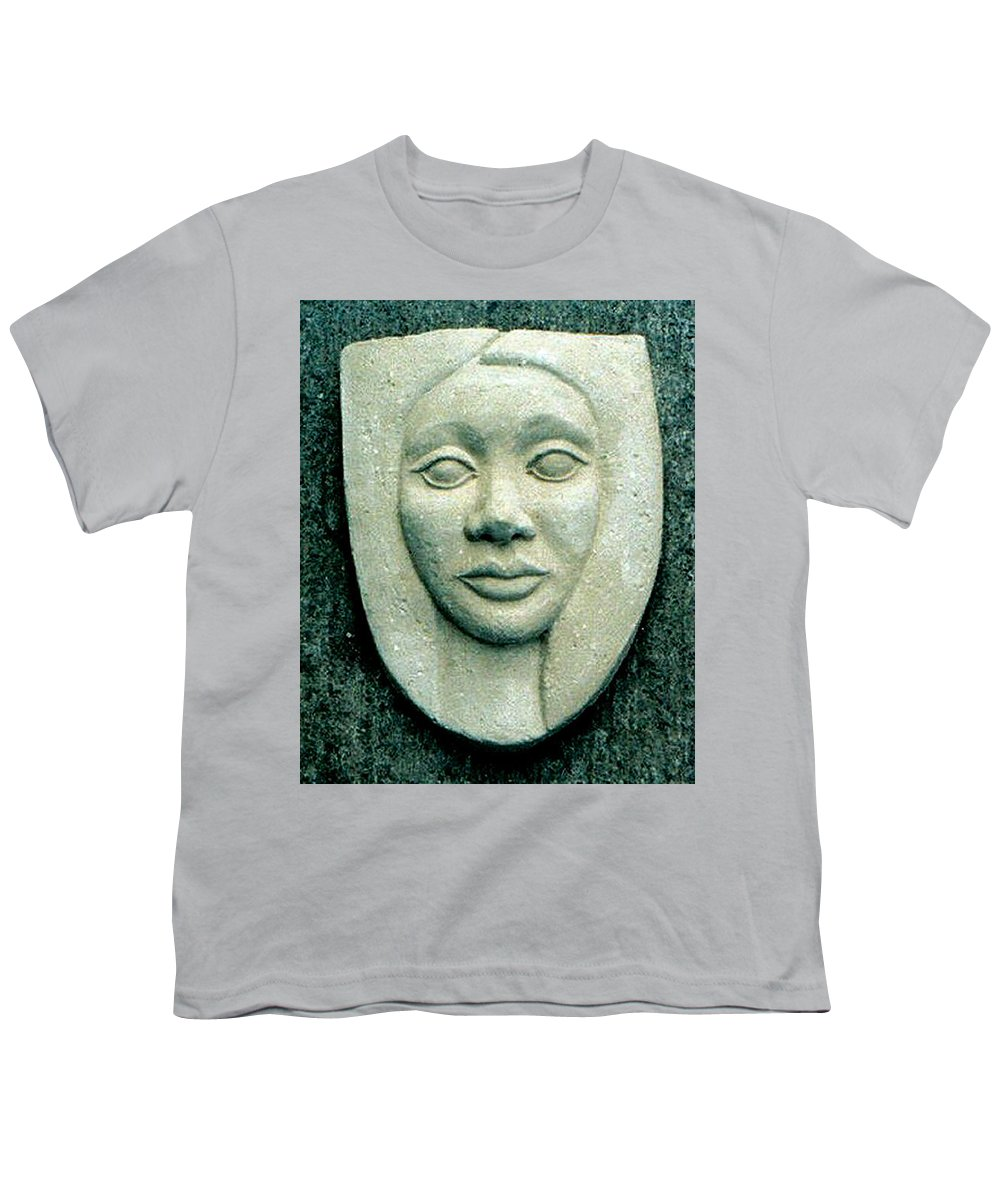 Relief Youth T-Shirt featuring the relief Without Veils by Madalena Lobao-Tello