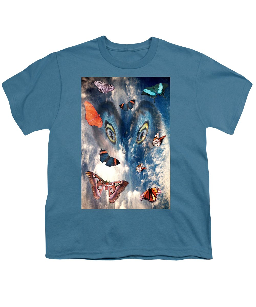 Air Youth T-Shirt featuring the digital art Air by Lisa Yount