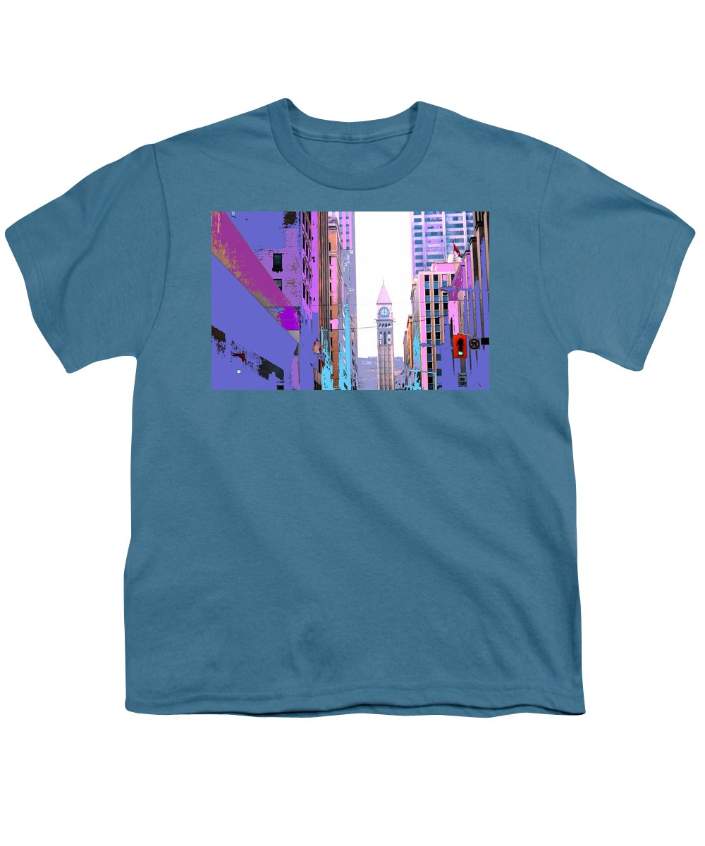 Bay Youth T-Shirt featuring the photograph Toronto Old City Hall by Ian MacDonald