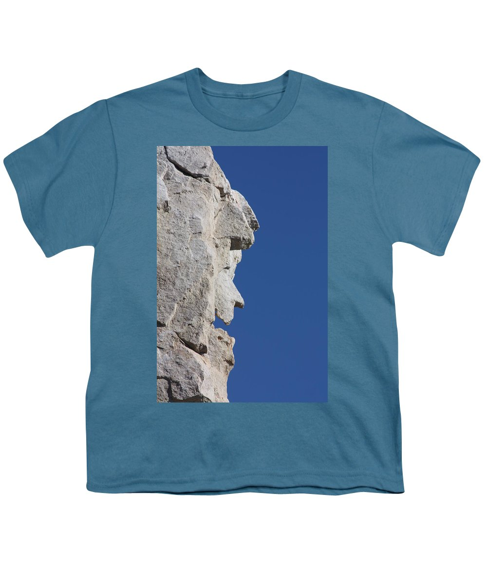 Witch Youth T-Shirt featuring the photograph Witch Rock by Shane Bechler