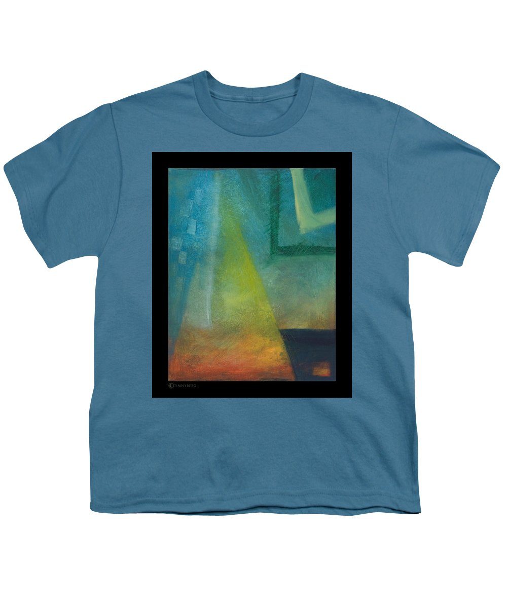 Sunset Youth T-Shirt featuring the painting Sunset Sail by Tim Nyberg