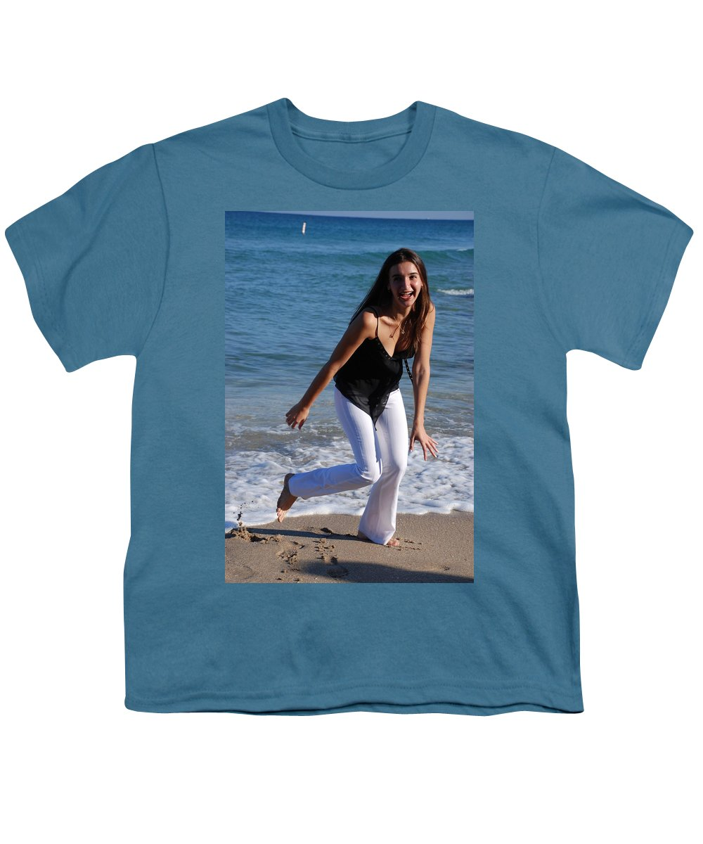 Sea Scape Youth T-Shirt featuring the photograph Gisele by Rob Hans