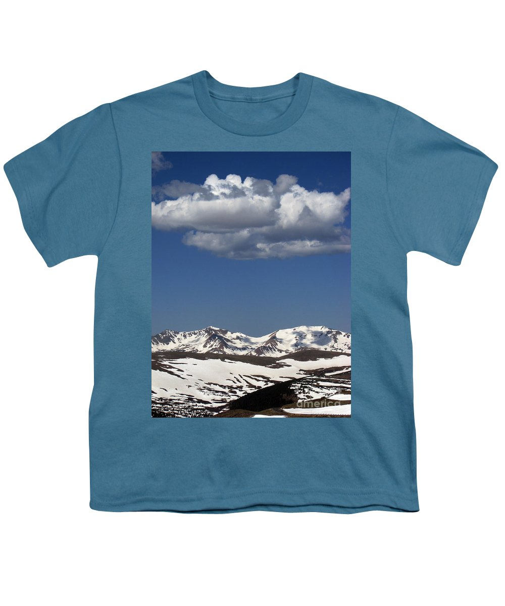 Colorado Youth T-Shirt featuring the photograph Above It All by Amanda Barcon