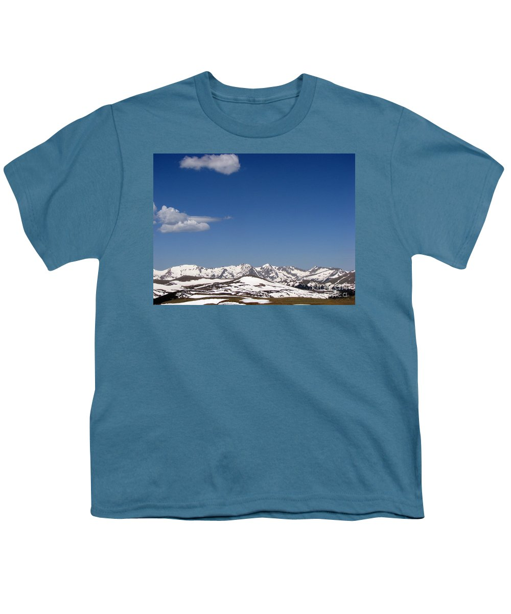 Mountains Youth T-Shirt featuring the photograph Alpine Tundra Series by Amanda Barcon