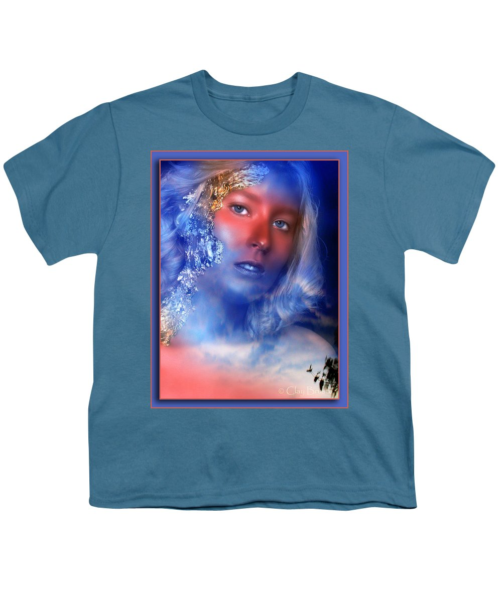 Clay Youth T-Shirt featuring the photograph Beauty In The Clouds by Clayton Bruster