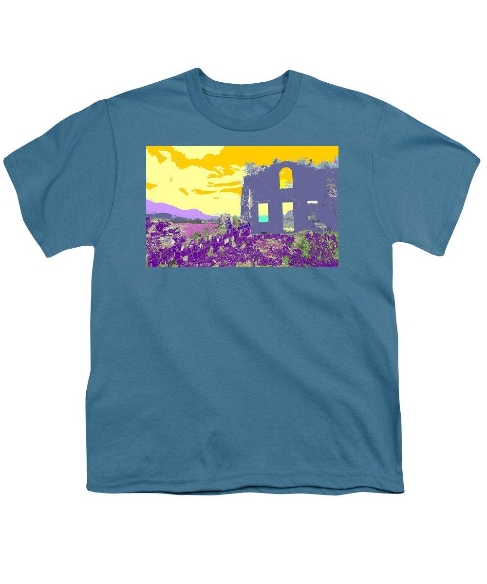 Brimstone Youth T-Shirt featuring the photograph Brimstone Sunset by Ian MacDonald