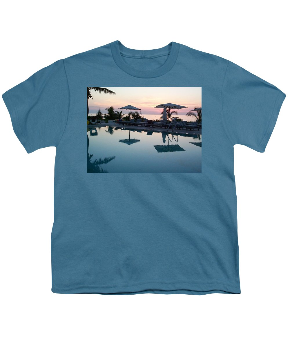Charity Youth T-Shirt featuring the photograph Columbus Isle by Mary-Lee Sanders