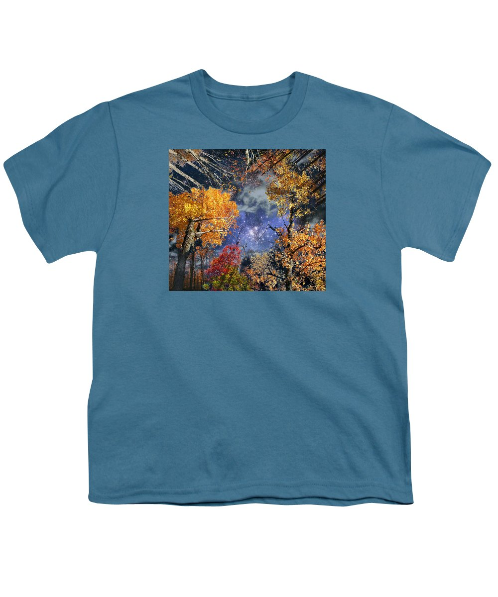 Deep Space Youth T-Shirt featuring the photograph Deep Canopy by Dave Martsolf