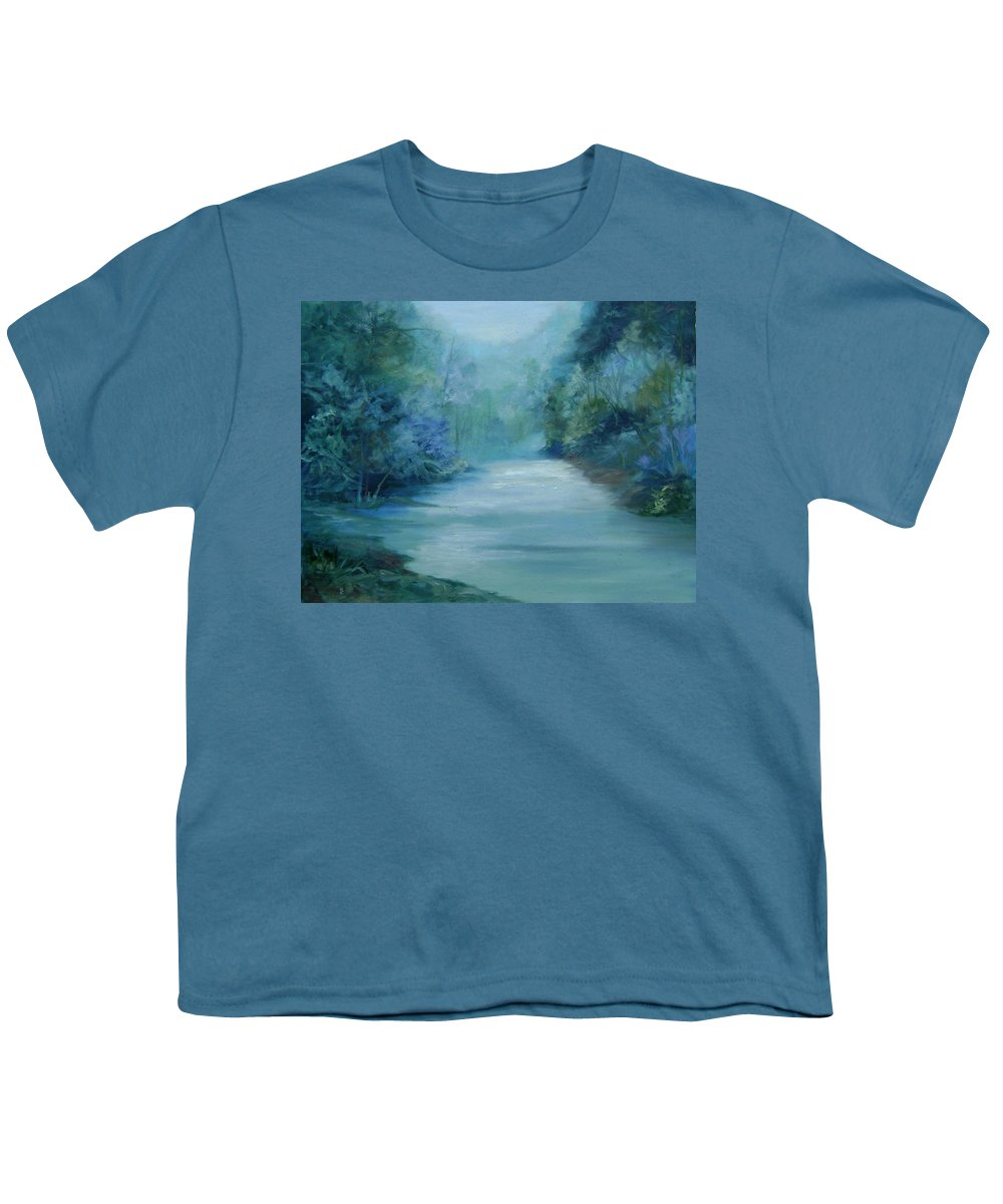 Burton River Georgia Youth T-Shirt featuring the painting Dreamsome by Ginger Concepcion