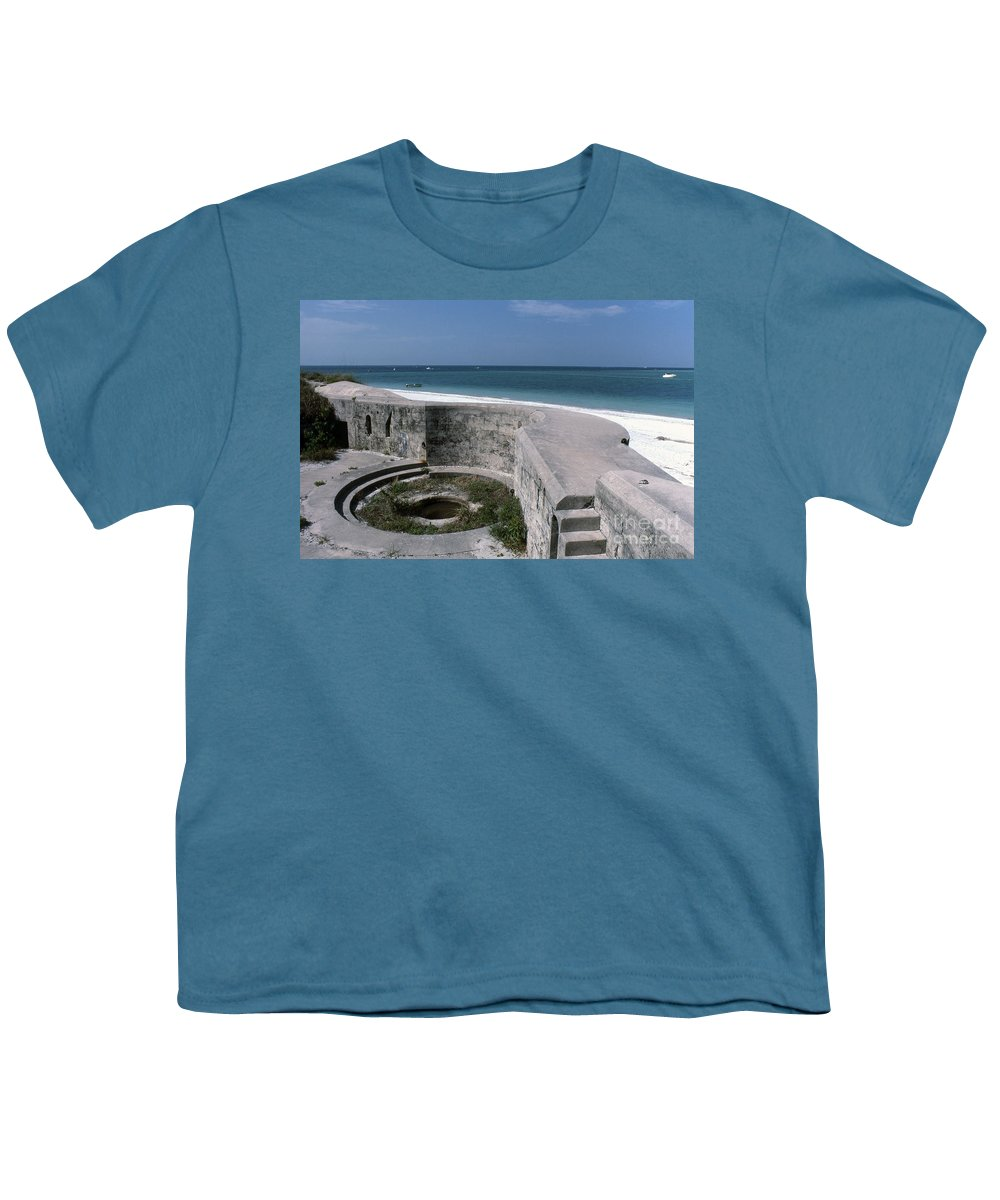 Beaches Youth T-Shirt featuring the photograph Egmont Key by Richard Rizzo