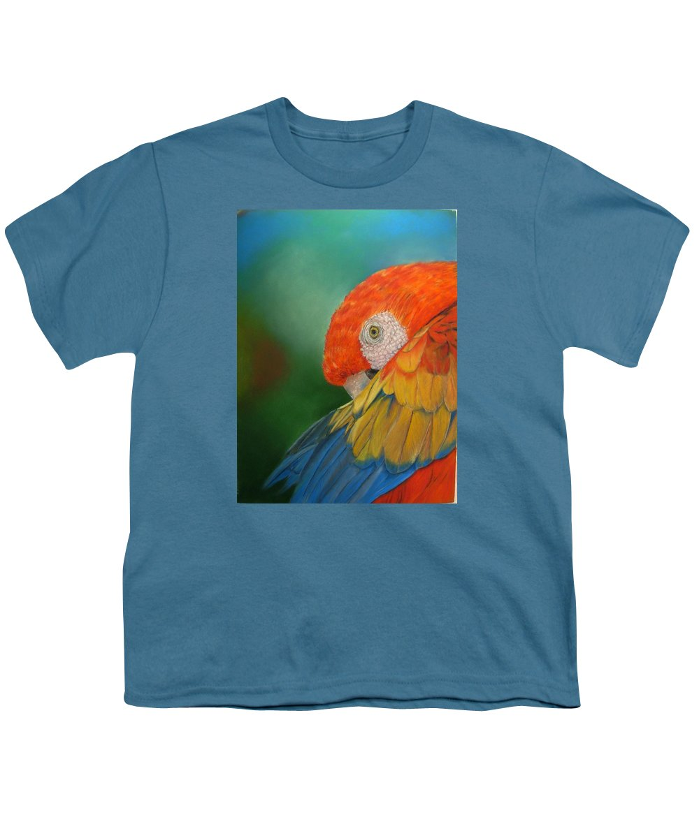 Bird Youth T-Shirt featuring the painting Escondida by Ceci Watson