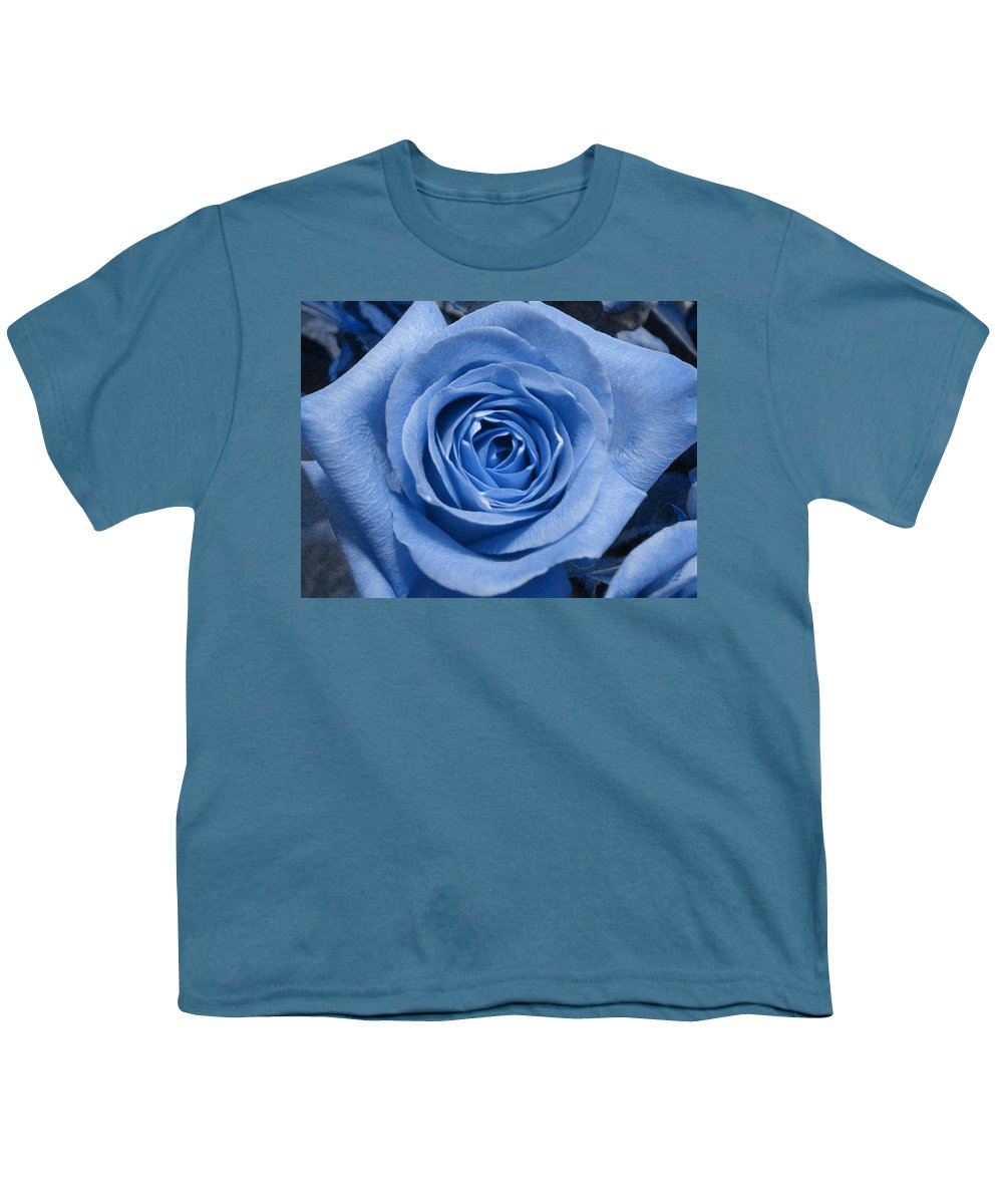 Rose Youth T-Shirt featuring the photograph Eye Wide Open by Shelley Jones