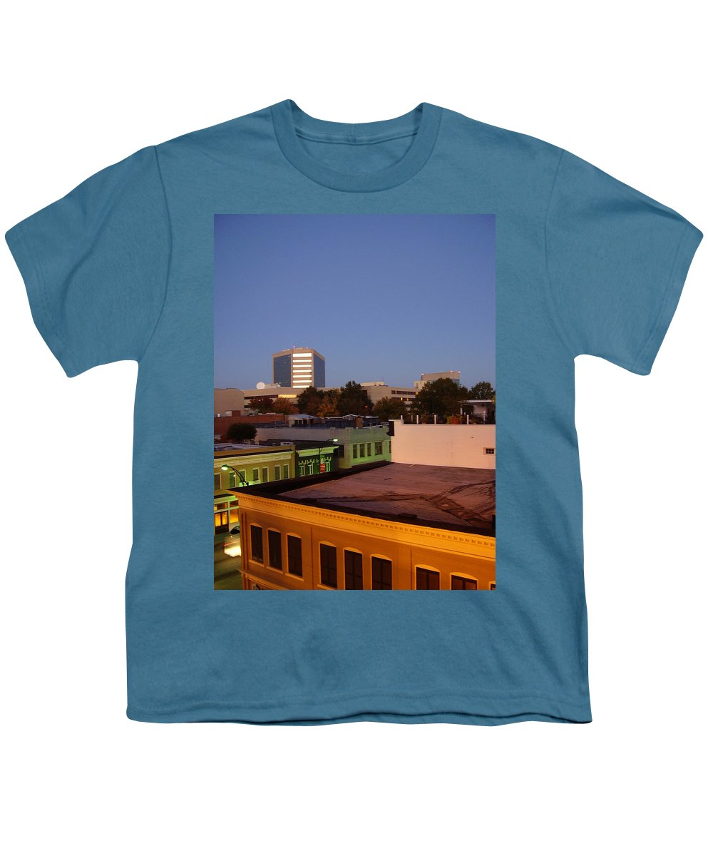 Greenville Youth T-Shirt featuring the photograph Greenville by Flavia Westerwelle