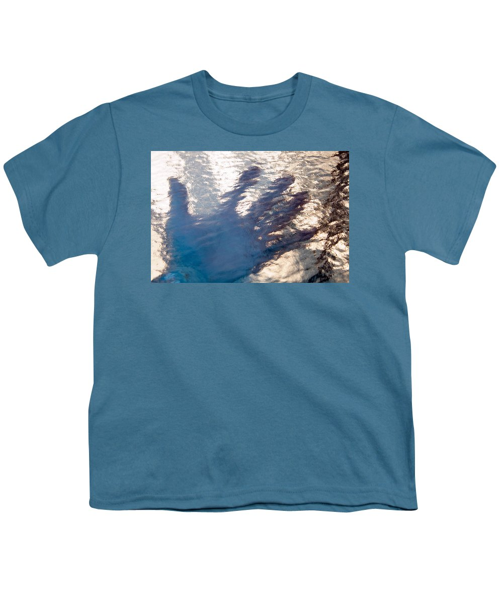 Clay Youth T-Shirt featuring the photograph Hand Out by Clayton Bruster