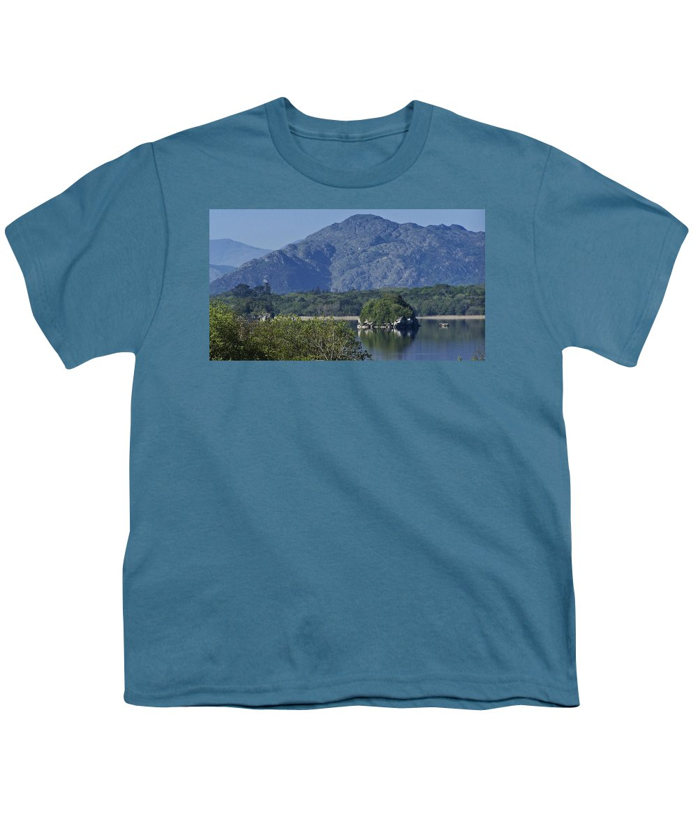 Irish Youth T-Shirt featuring the photograph Loch Leanne Killarney Ireland by Teresa Mucha