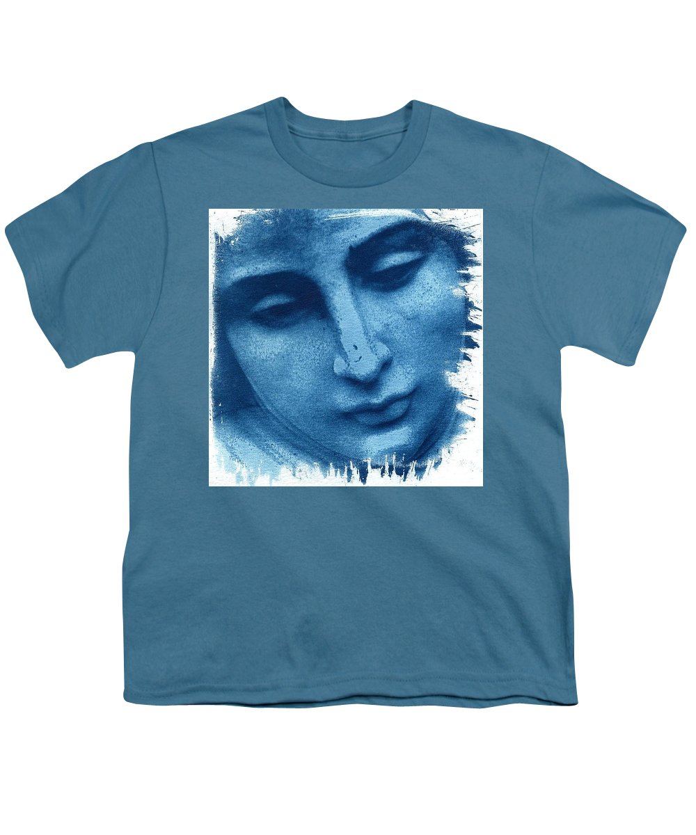 Blue Youth T-Shirt featuring the photograph Marys Blues by Jane Linders