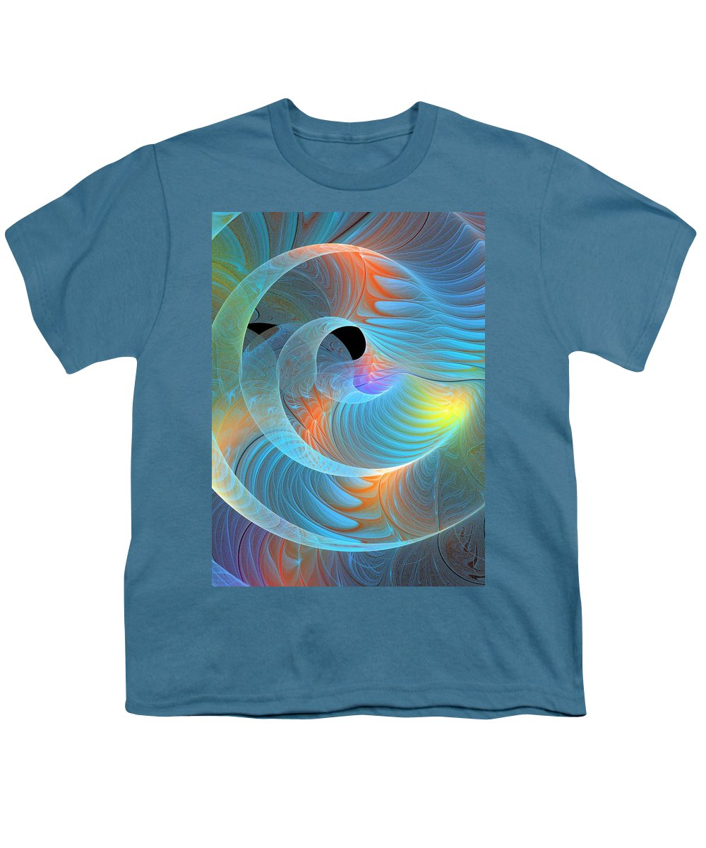 Digital Art Youth T-Shirt featuring the digital art Moment Of Elation by Amanda Moore