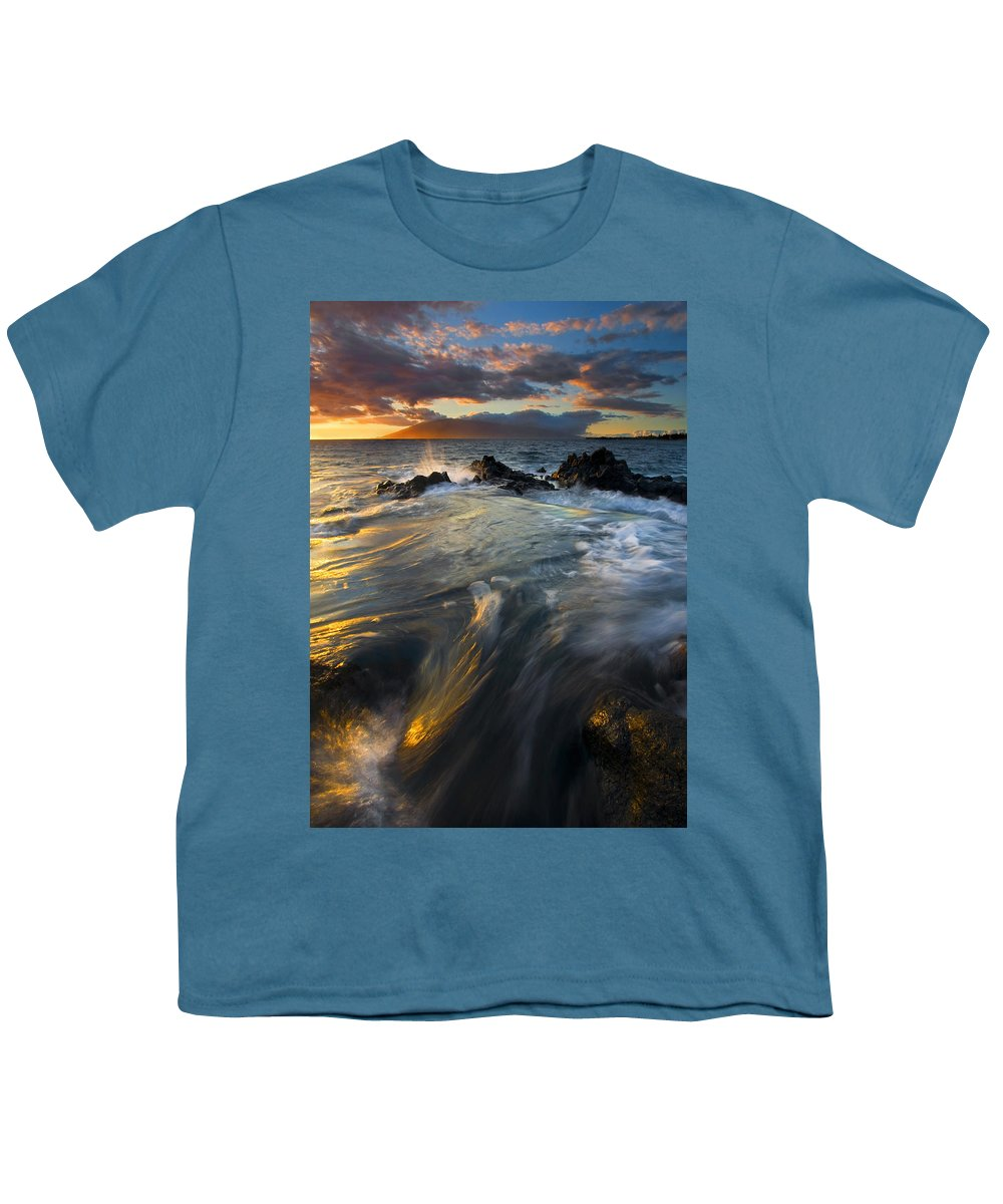 Cauldron Youth T-Shirt featuring the photograph Overflow by Mike Dawson