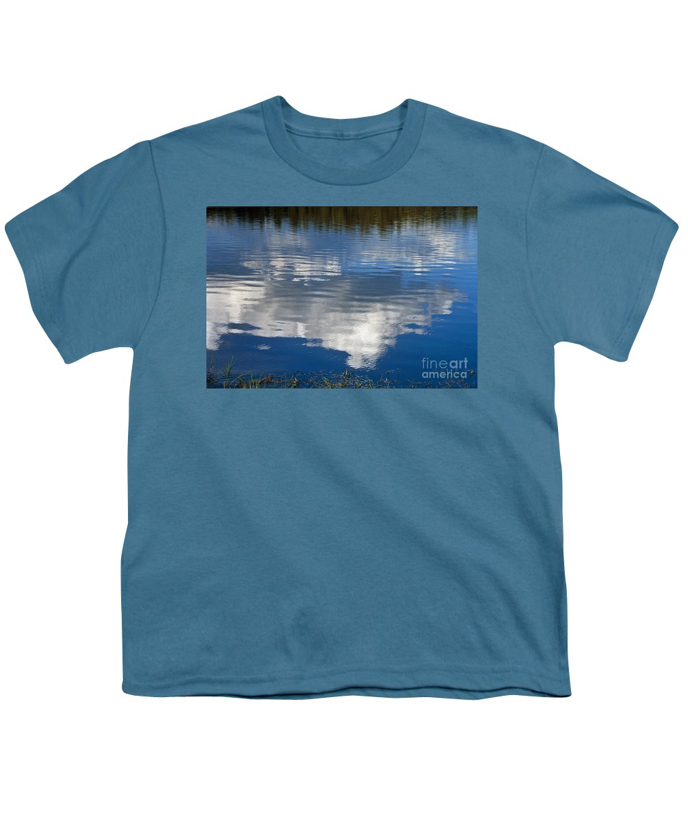 Landscape Youth T-Shirt featuring the photograph Peace by Kathy McClure