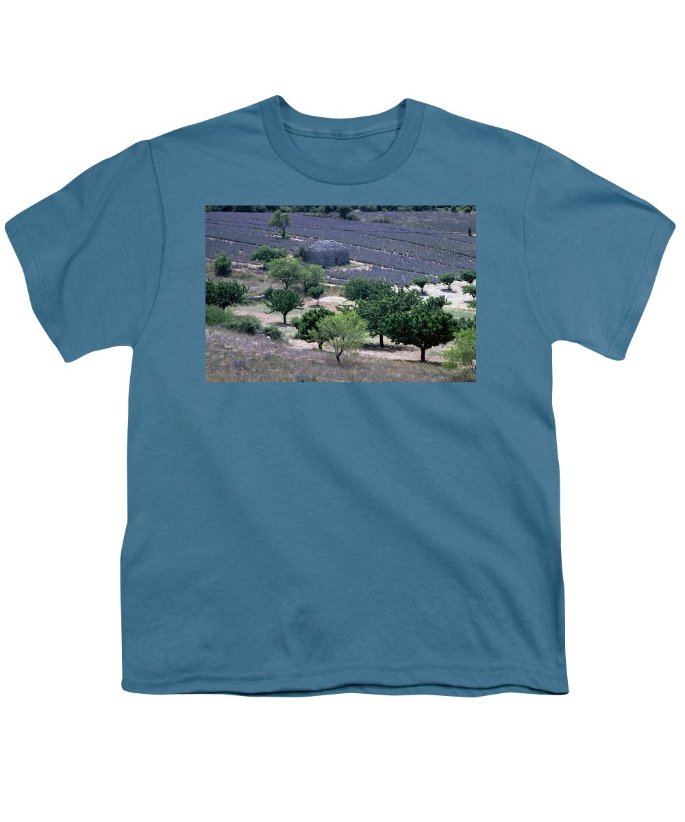 Provence Youth T-Shirt featuring the photograph Provence by Flavia Westerwelle