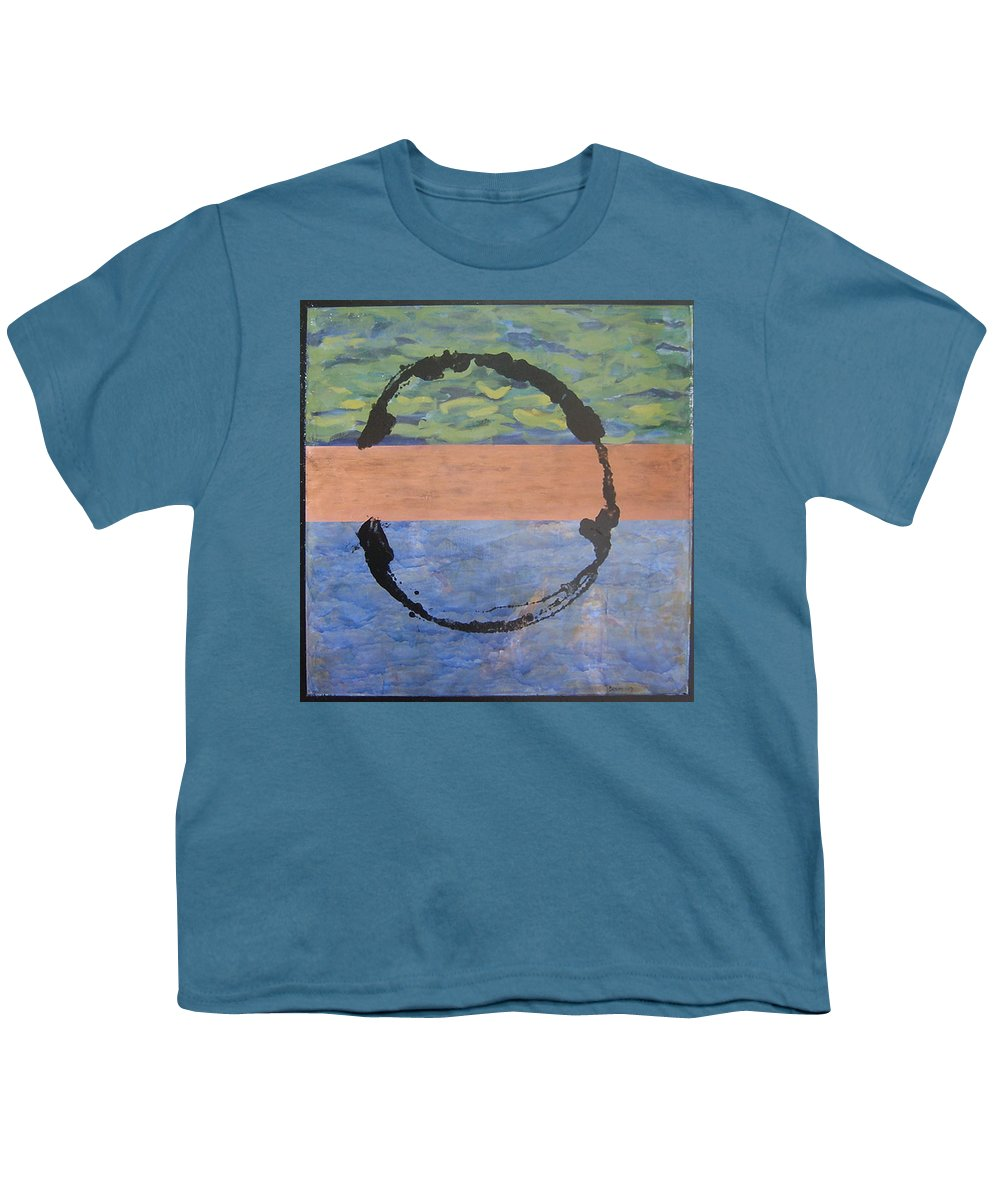 Serenity Youth T-Shirt featuring the painting Serenity by Ellen Beauregard