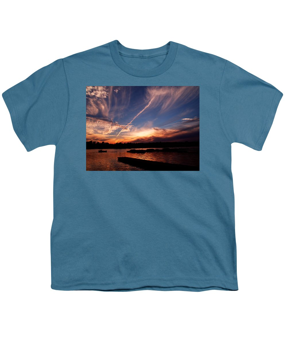 Sky Youth T-Shirt featuring the photograph Spirits In The Sky by Gaby Swanson