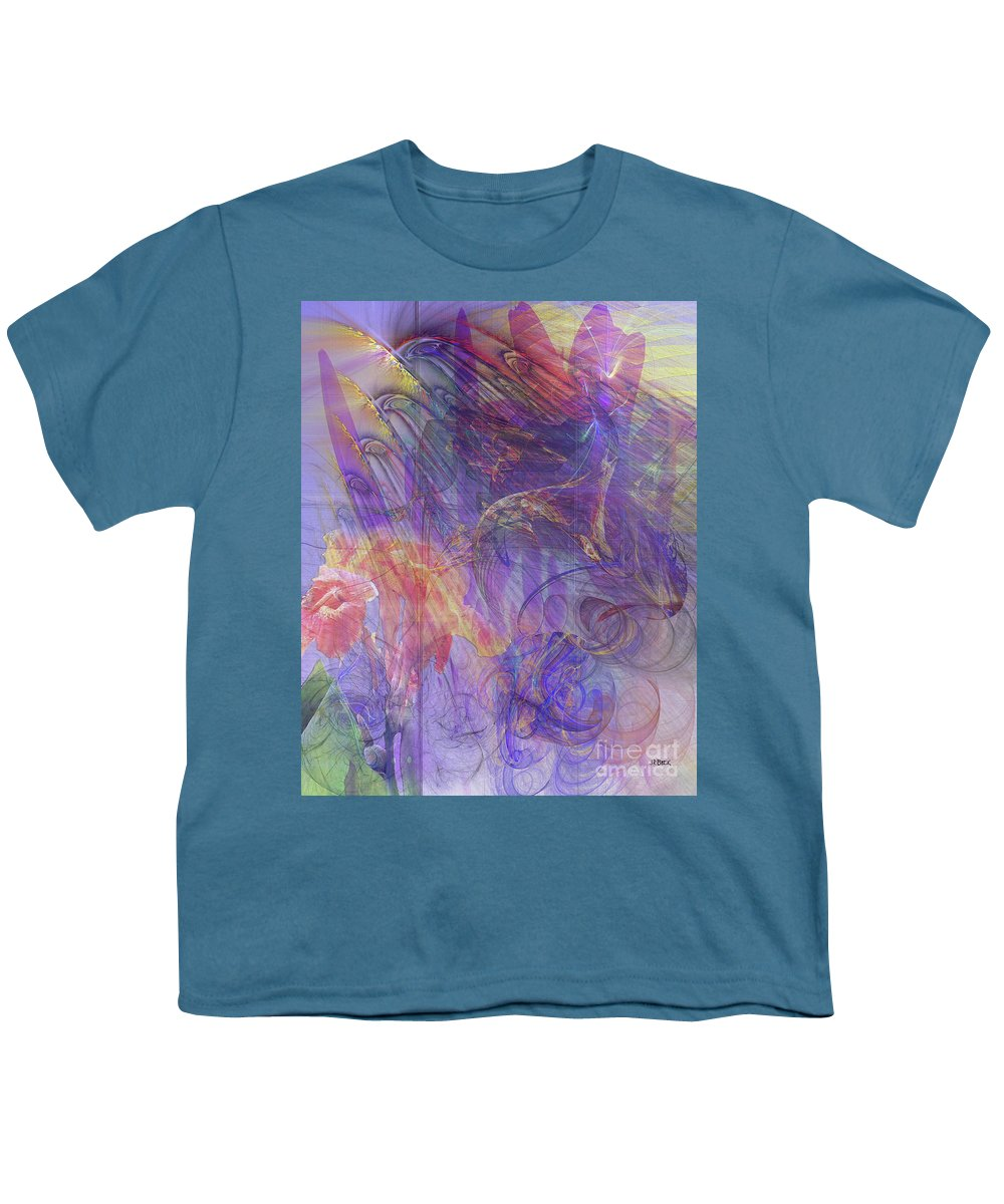 Summer Awakes Youth T-Shirt featuring the digital art Summer Awakes by John Beck
