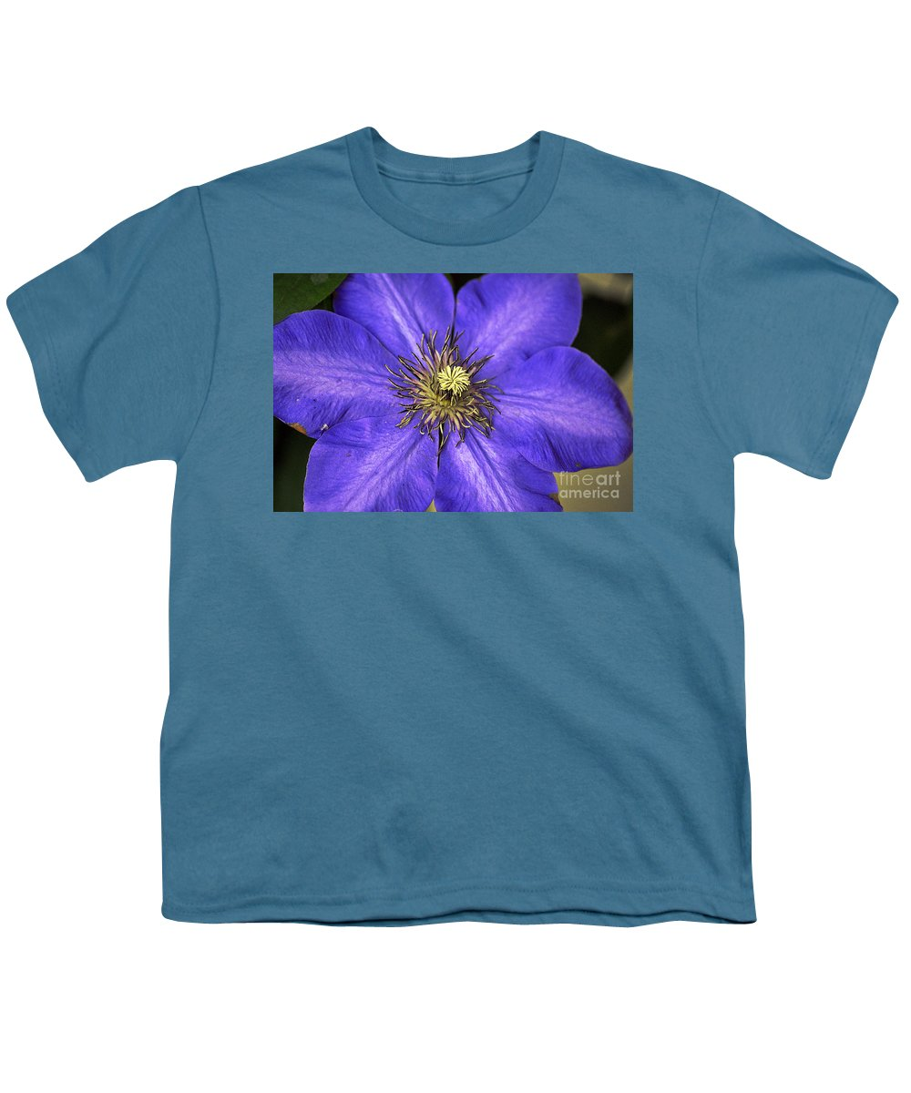 Clay Youth T-Shirt featuring the photograph Tenticles by Clayton Bruster