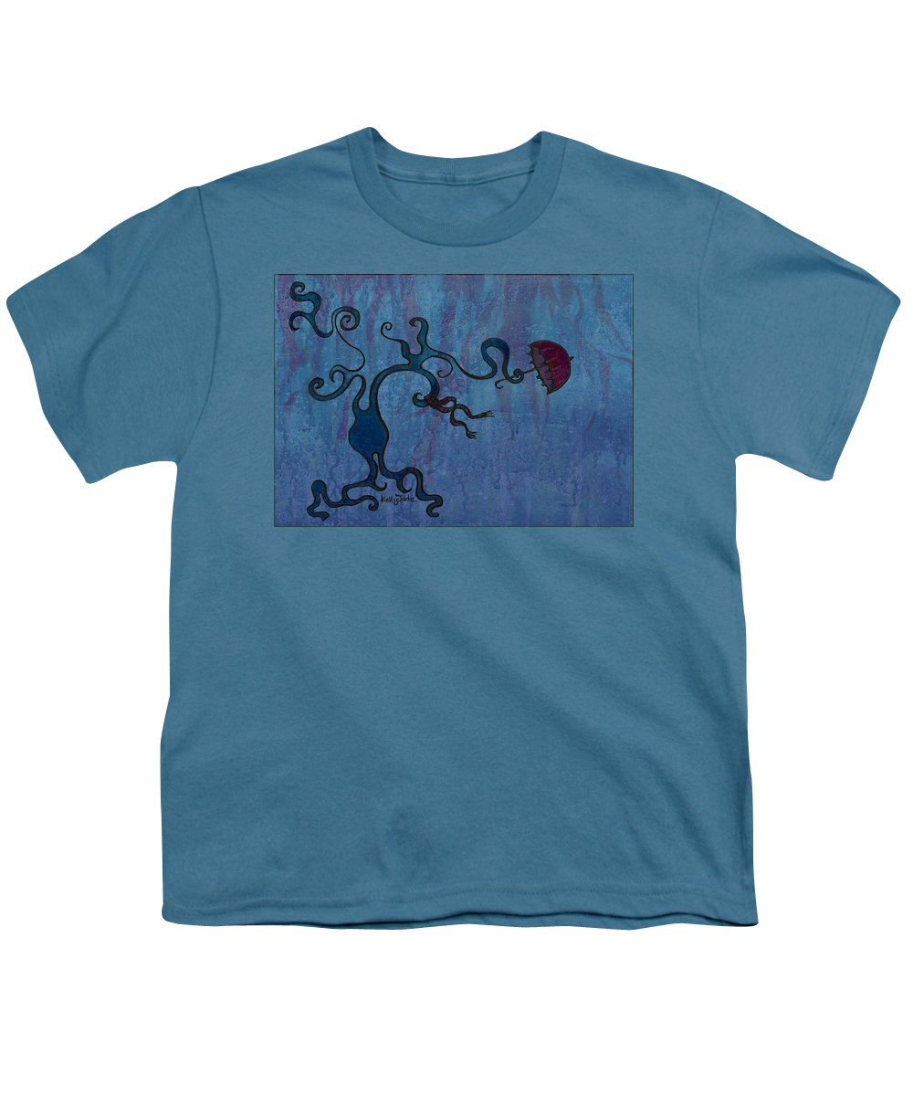 Tree Youth T-Shirt featuring the digital art Winter by Kelly Jade King