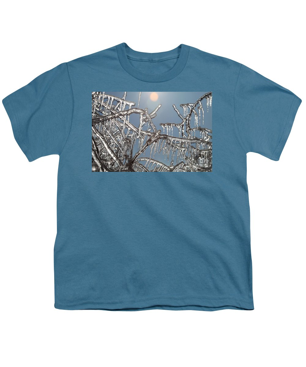 Winter Youth T-Shirt featuring the photograph Winter Warmth by Nadine Rippelmeyer