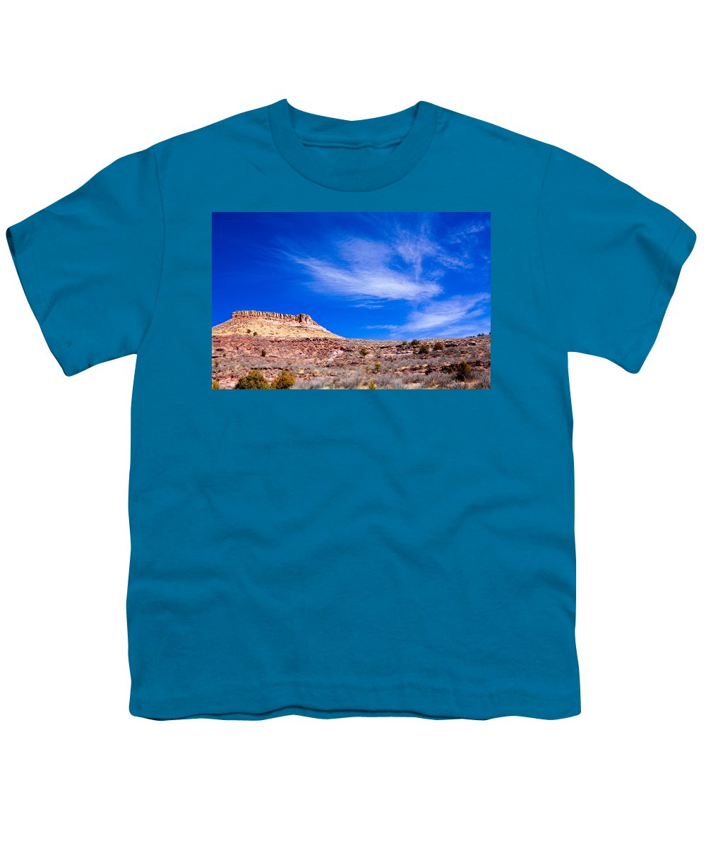 Red Youth T-Shirt featuring the photograph Outside Lyons Colorado by Marilyn Hunt