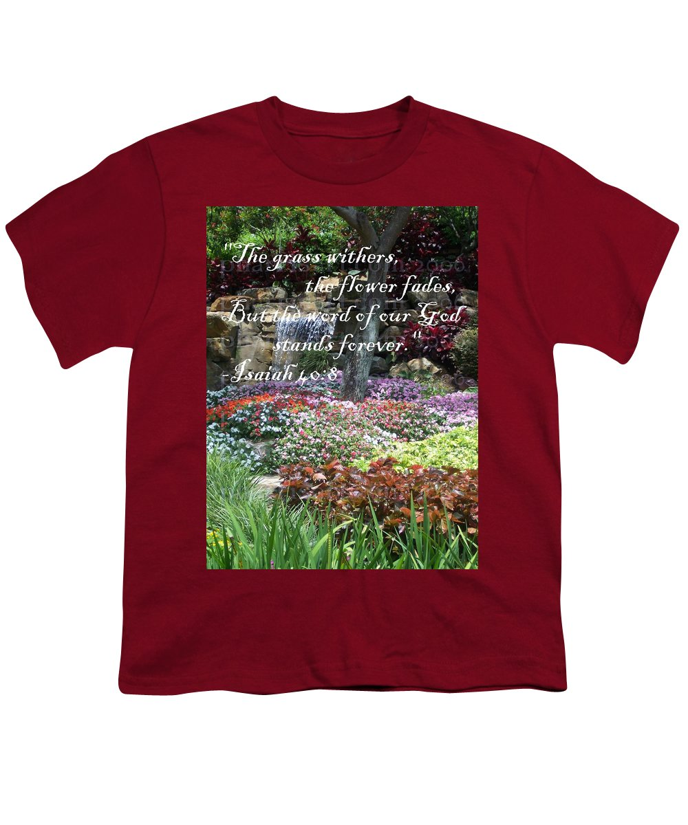 Inspirational Youth T-Shirt featuring the photograph Stands Forever by Pharris Art