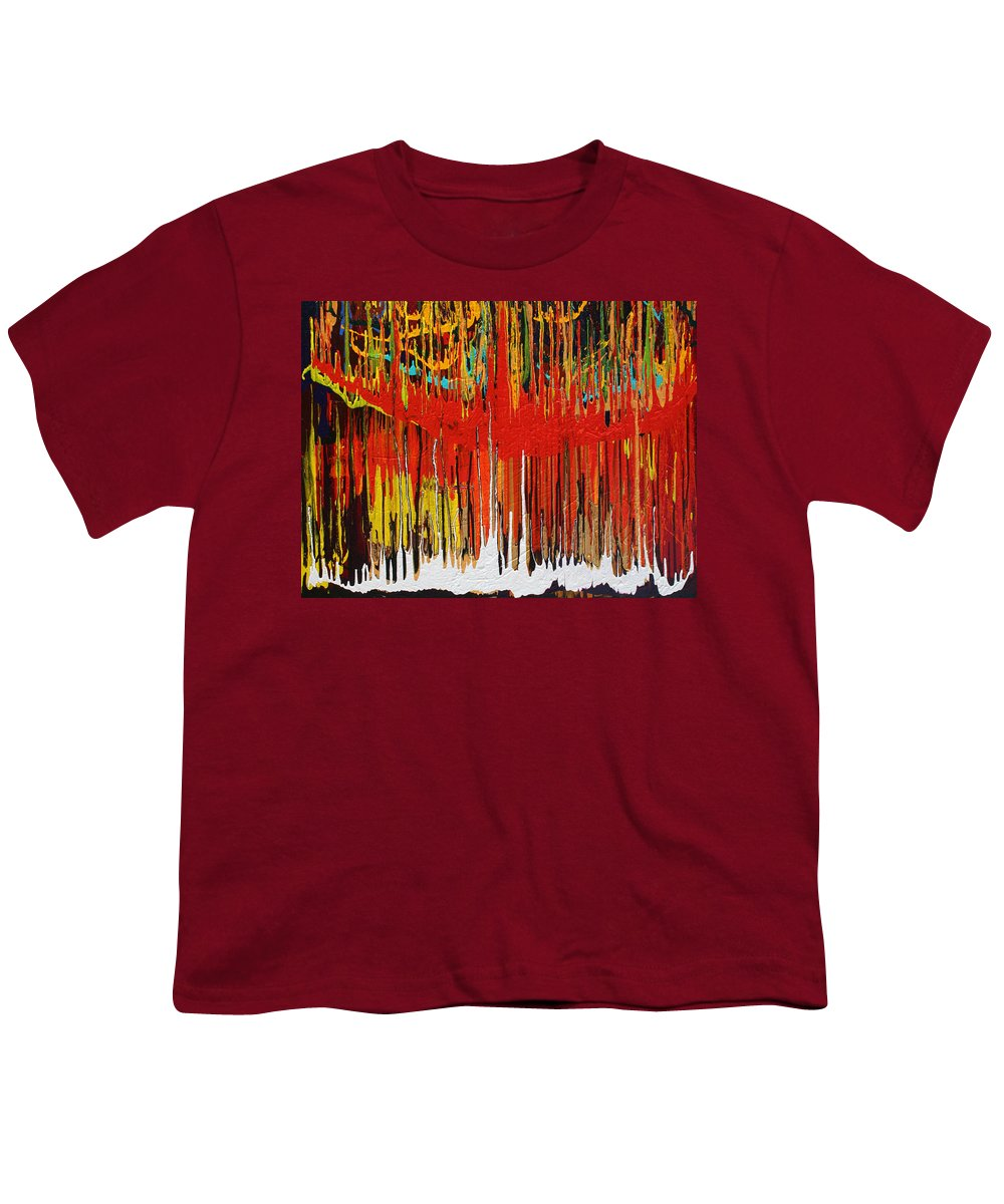 Fusionart Youth T-Shirt featuring the painting Ascension by Ralph White