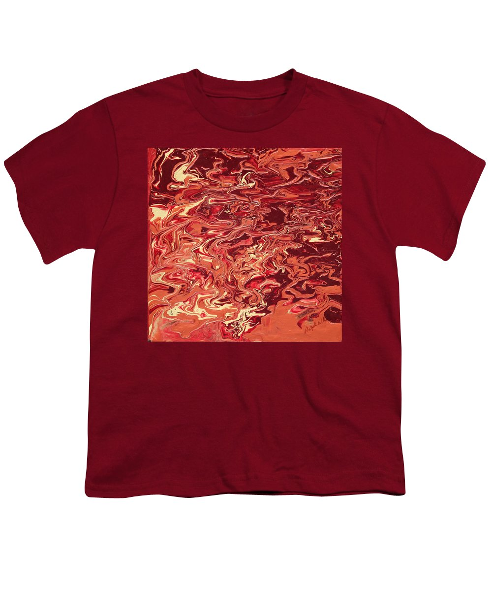 Fusionart Youth T-Shirt featuring the painting Indulgence by Ralph White