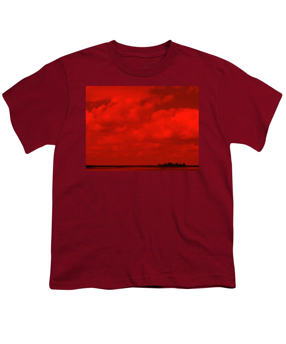 Sky Youth T-Shirt featuring the photograph Life On Mars by Ed Smith
