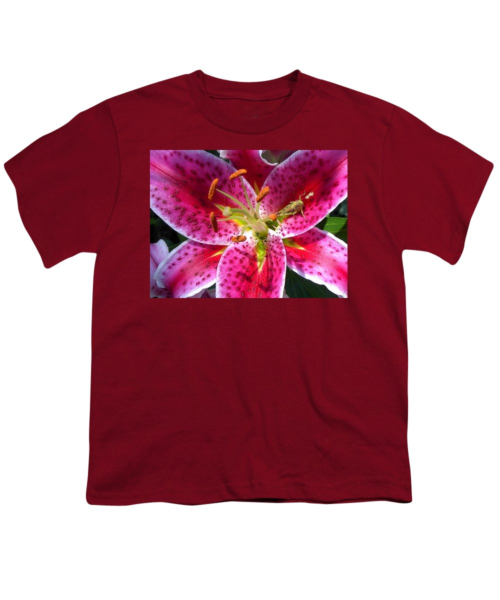 Charity Youth T-Shirt featuring the photograph Lily by Mary-Lee Sanders
