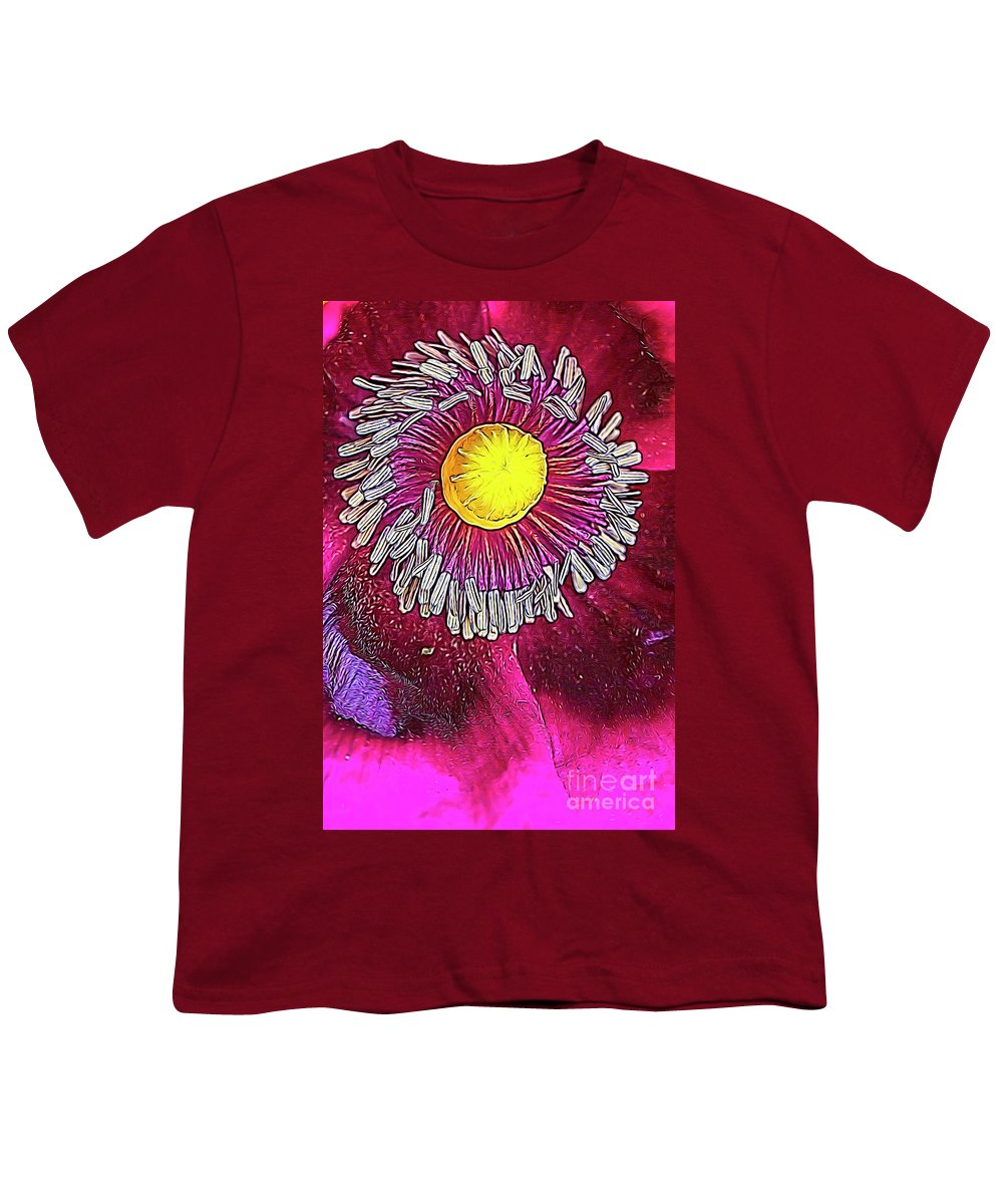 Red Poppy Youth T-Shirts