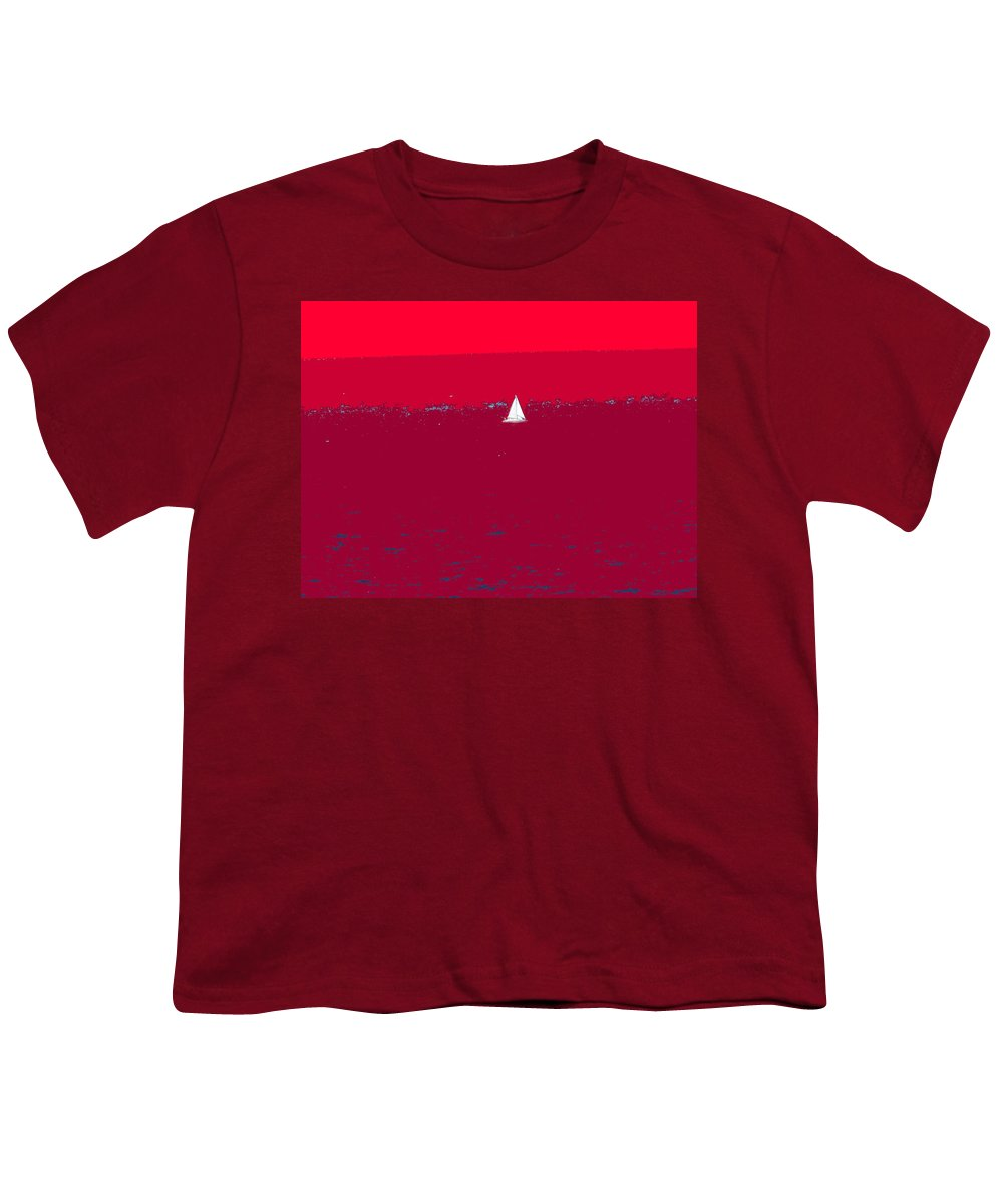 St Kitts Youth T-Shirt featuring the photograph Red Sea by Ian MacDonald