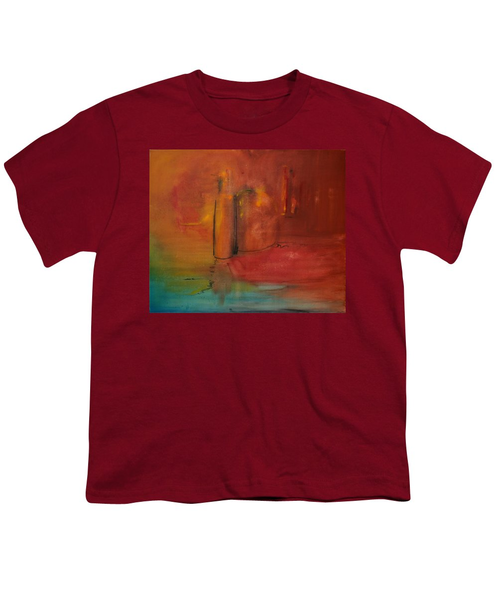 Still Youth T-Shirt featuring the painting Reflection Of Still Life by Jack Diamond