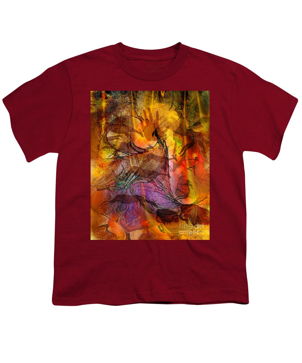 Shadow Hunters Youth T-Shirt featuring the digital art Shadow Hunters by John Beck