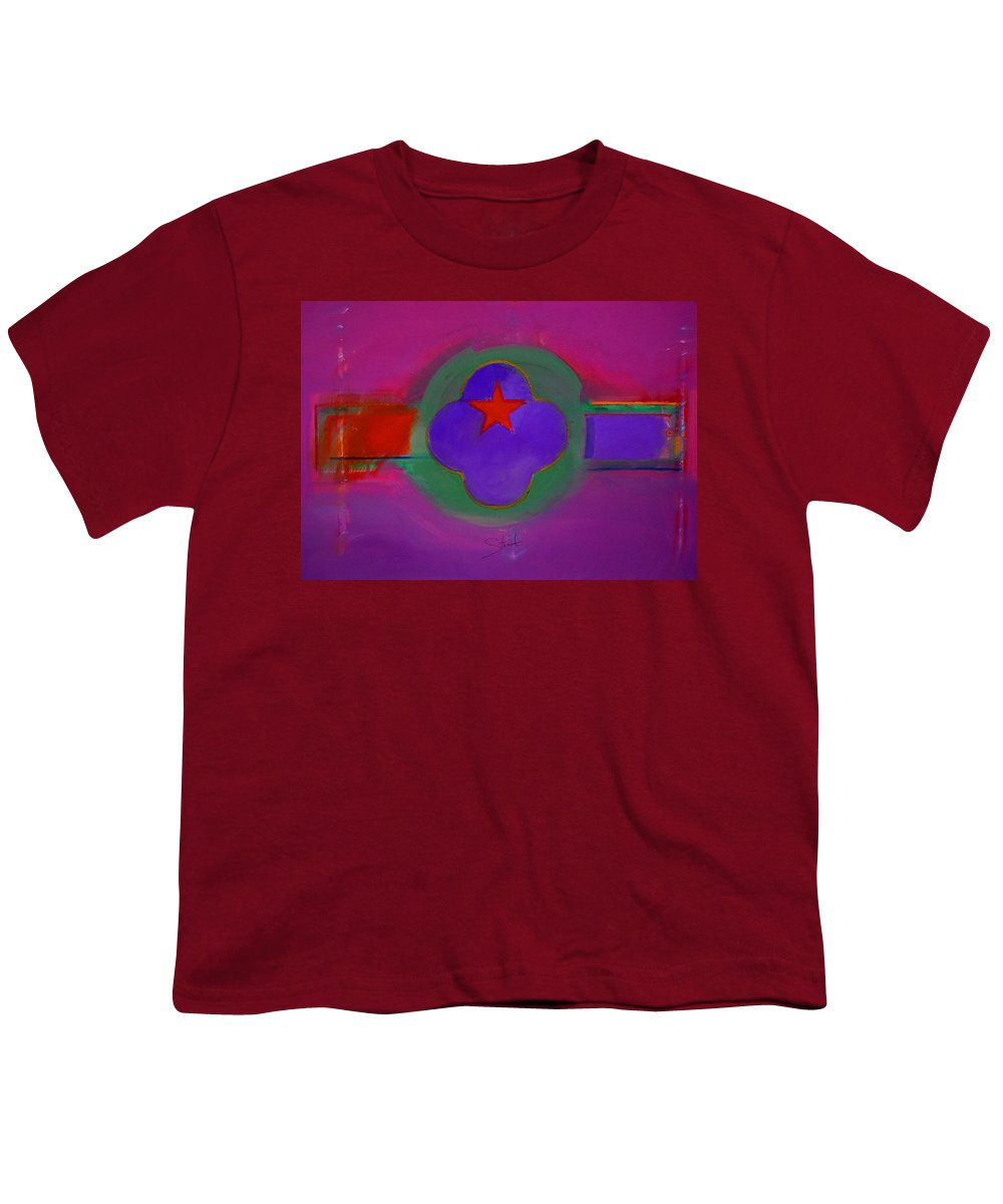 Star Youth T-Shirt featuring the painting Venice Spiritual by Charles Stuart