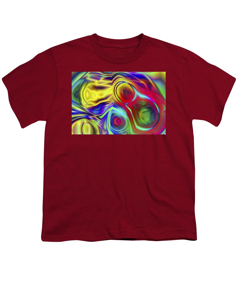 Crazy Youth T-Shirt featuring the digital art Vision 10 by Jacques Raffin