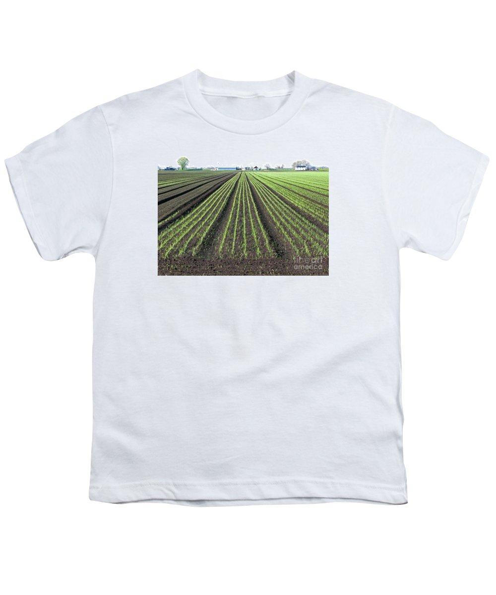 Farm Youth T-Shirt featuring the photograph Good Earth by Ann Horn